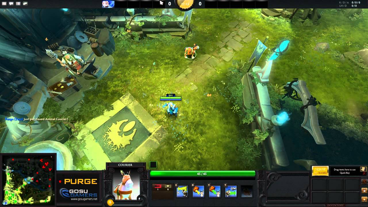 dota 2 how to spend your starting gold youtube