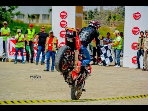 ramy sold stunt bike championship 2015 round 1   رامي صلد