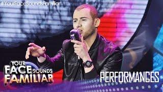 """Your Face Sounds Familiar: Michael Pangilinan as Nick Jonas - """"Jealous"""""""