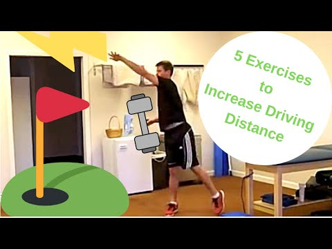 These Exercises Will Increase Driving Distance for Golf