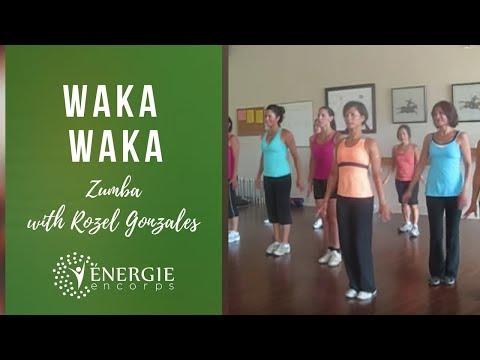 Waka Waka - Zumba with Rozel - West Island - Montreal Canada