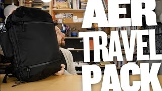 Aer Travel Pack Review — Single Bag Travel