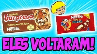 10 DOCES DA SUA INFÂNCIA QUE ESTÃO DE VOLTA!