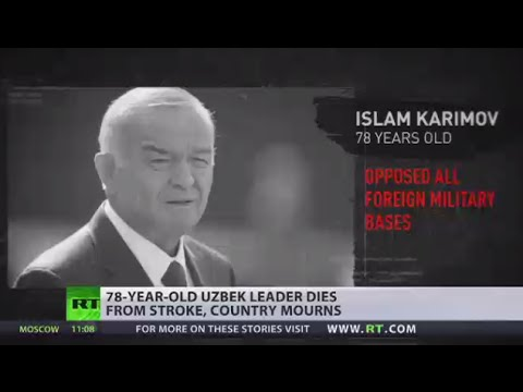 Uzbekistan president Karimov dies aged 78 after 27 years in power