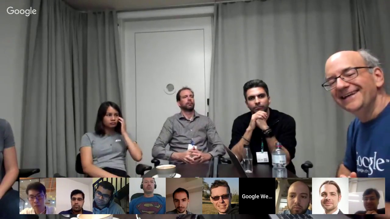 English Google Webmaster Central IRL office-hours hangout