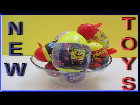 Watch & Have Fun Opening Kinder Surprise Eggs With New Hidden Toys For Kids Inside Video