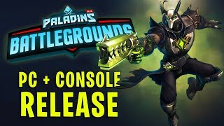 How & When can I play Paladins Battlegrounds? (Console + PC)