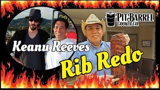 BBQ Ribs Redo Keanu Reeves John Wick Matrix Pit Barrel Cooker PBC Champion Harry Soo SlapYoDaddyBBQ