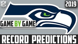 2019 NFL Record Predictions - Seattle Seahawks Record Prediction 2019