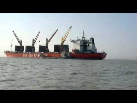 Ship Supply at Chittagong Port Outer Anchorage