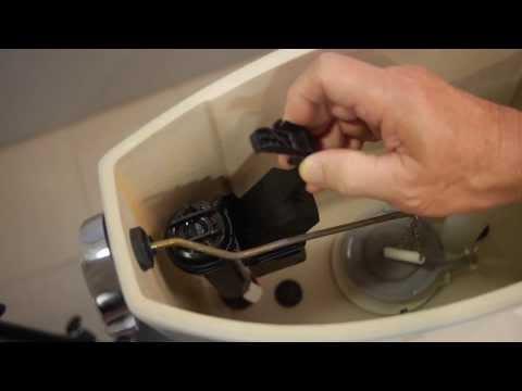 Change Toilet Tank Flapper