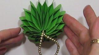 новогодние Подарки Игрушки Украшения для дома елки из бумаги колокольчики Поделки своими руками
