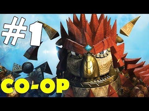 Knack CO-OP Walkthrough Part 1 Gameplay Let's Play Playthrough 1080p HD