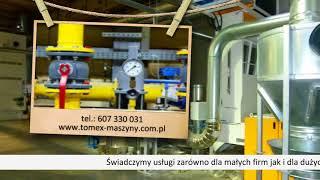 TOMEX relokacja maszyn, automatyka przemysłowa Bydgoszcz, transport maszyn kujawsko-pomorskie