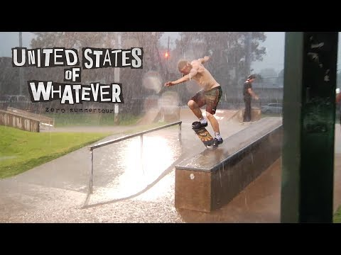 Zero Skateboards - United States of Whatever Tour | Episode 2 - RAIN DEMO!