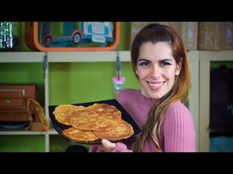 Tortitas con harina de almendras