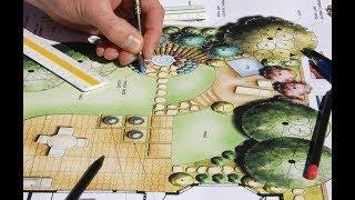 видео Ландшафтное проектирование и озеленение участка: цены в Москве