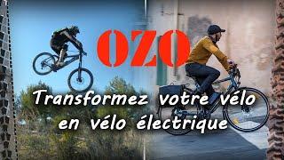 Transformez votre vélo en vélo électrique avec un kit OZO