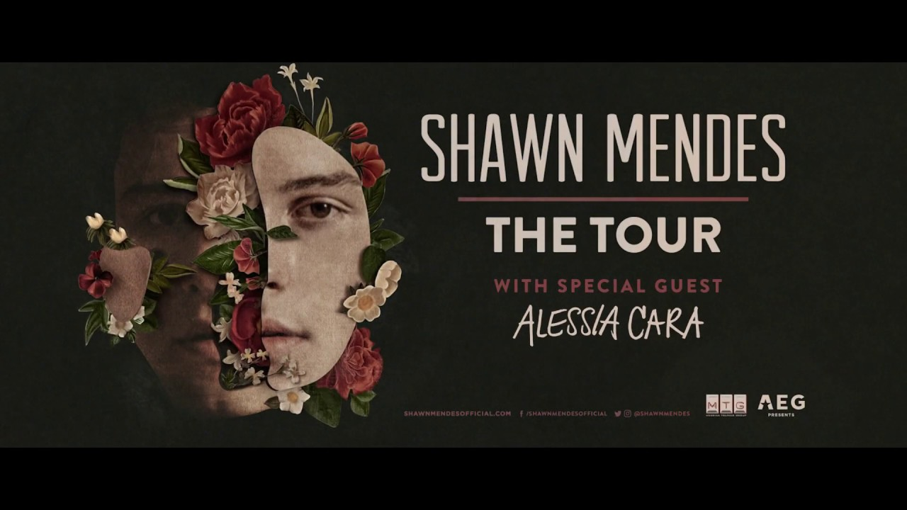 Shawn Mendes The Tour Coming To Amway