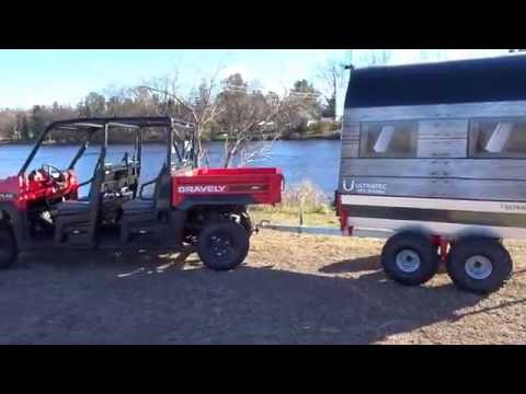 Ultratec ATV sauna walk around