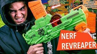 ZAŁATW ZOMBIAKI MEGA SERIĄ Z NERFA- Nerf Zombie Revreaper