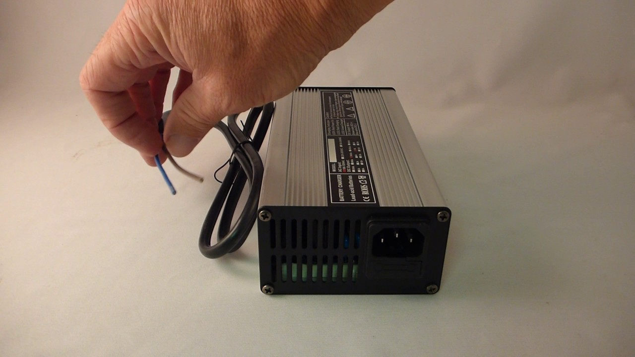36 Volt 5 Amp Lead Acid Battery Charger With Wire Leads 36v Wiring Batteries In Series Batteryspecialistca