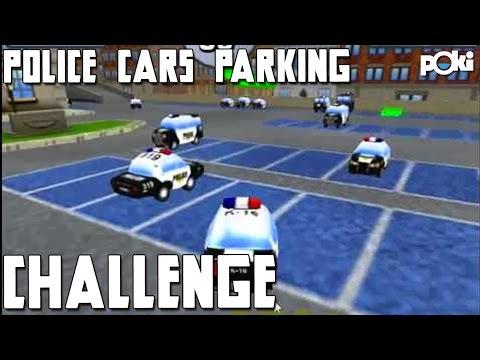 Freeze Police! Police Cars Parking Poki Challenge! - YouTube