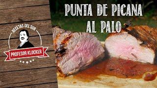 Punta de Picana al Palo - Recetas del Sur