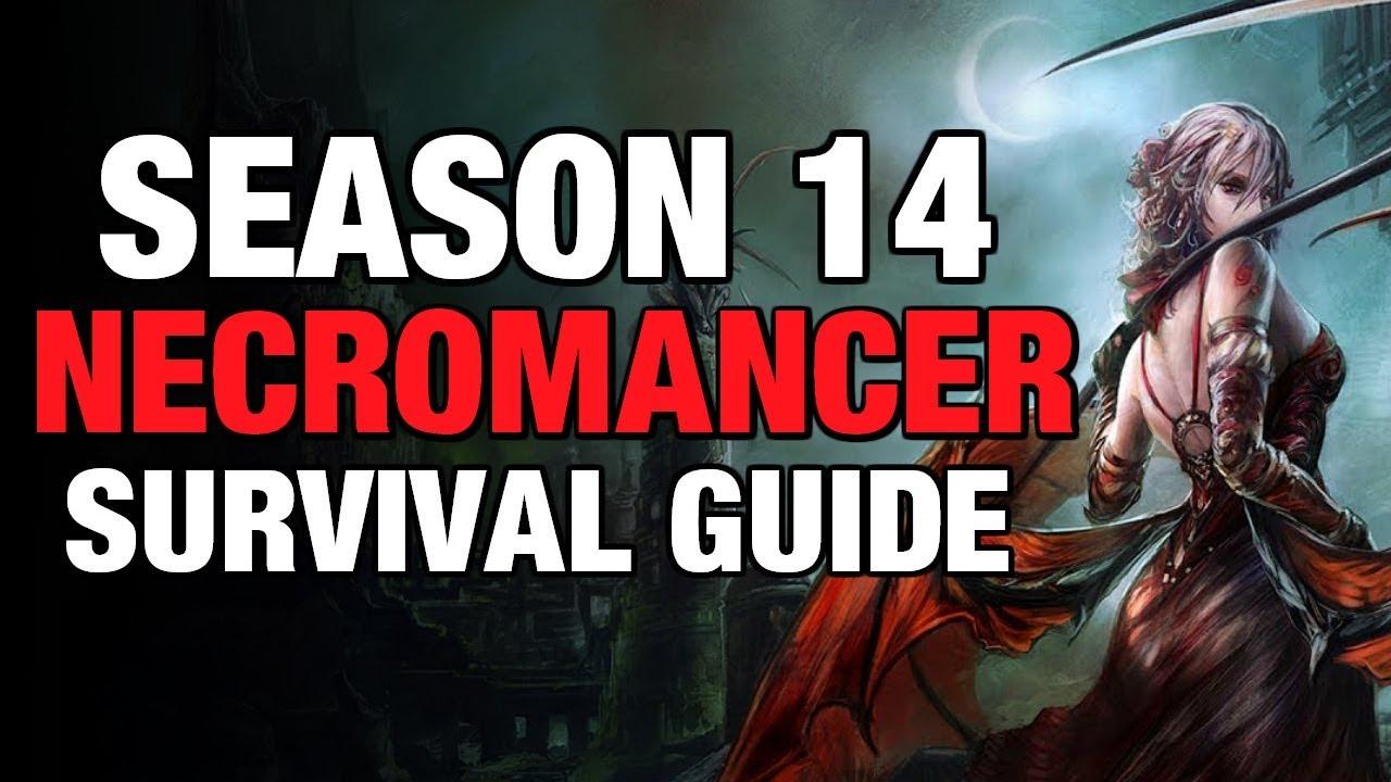 Diablo 3 - Necromancer Pestilence Starter Build Guide Season