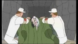101 Dalmations II Cruella De Vil Mental Scene