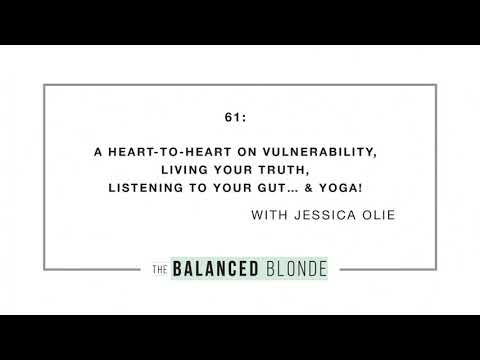 Ep. 61 ft. Jessica Olie - A Heart-to-Heart on Vulnerability, Living Your Truth, Listening to...