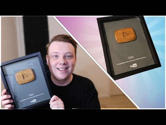 Youtube Sent Me the New 10,000 Subscriber Plaque! (Bronze Play Button Reward Unboxing)