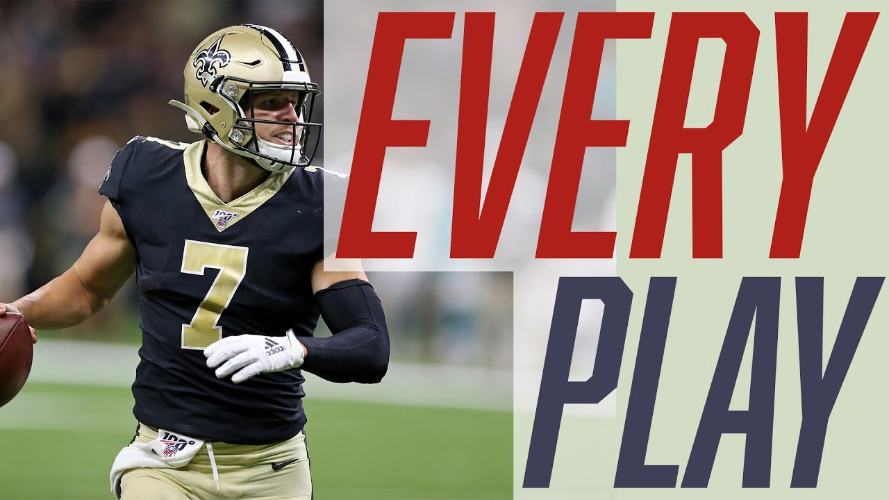 Taysom Hill | Weeks 1-10 | Every Play | 2020