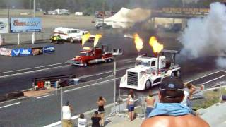 Repeat youtube video Jet Engine Truck Race