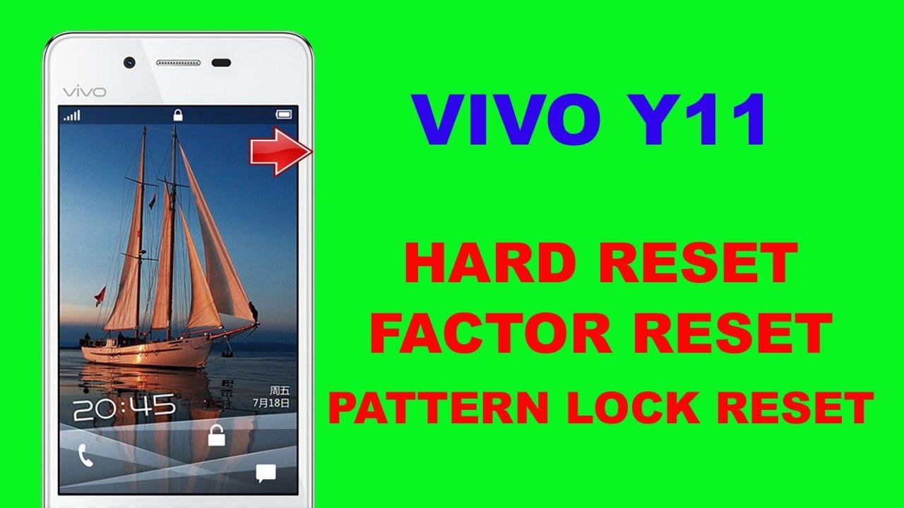 VIVO Y11 HARD RESET   VIVO Y11 PATTERN LOCK SOLUTION