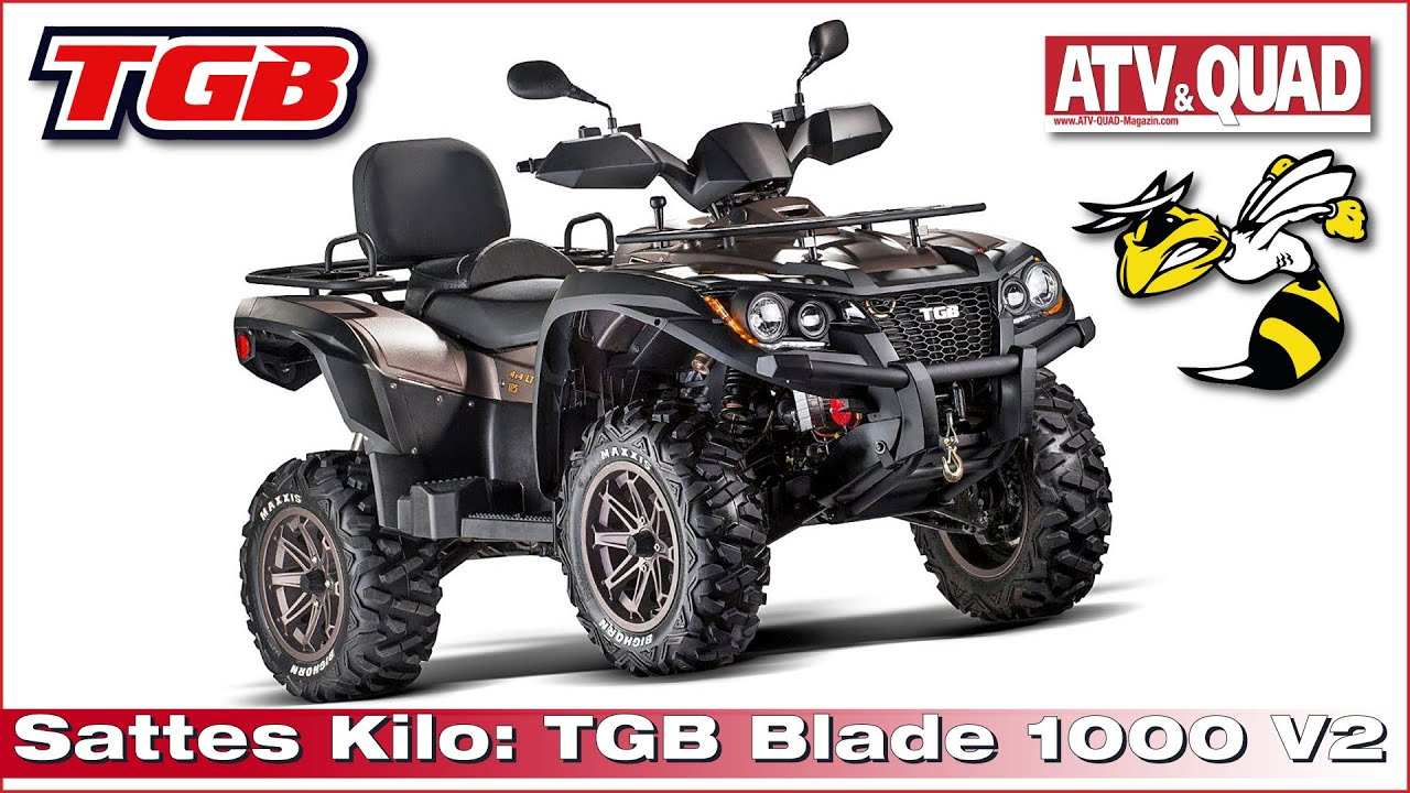 sattes kilo atv tgb blade 1000 v2 kommt im herbst 2015. Black Bedroom Furniture Sets. Home Design Ideas