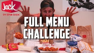 SUPERCHARGED JACK IN THE BOX MENU CHALLENGE