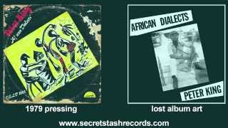 Peter King African Dilalects Limited Edition LP (preorder now)