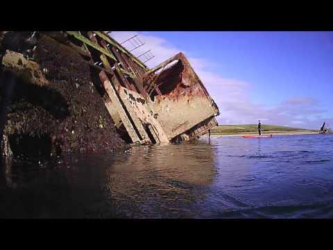 Snorkeling - WWII wreck - Orkney 2016