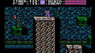 Ninja Gaiden NES 6-2 walkthrough