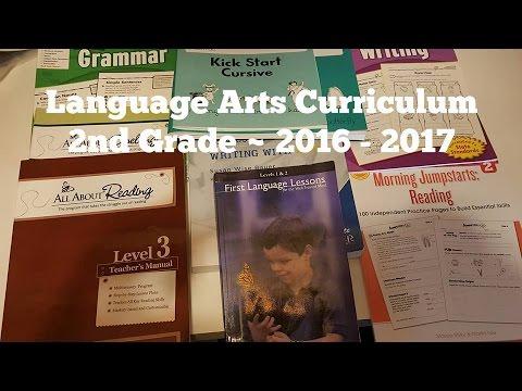 2nd Grade Homeschool Curriculum Choices 2016 2017 Language