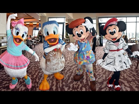 Topolino's Terrace Character Breakfast Overview, Disney's Riviera Resort - Characters, Food & View!