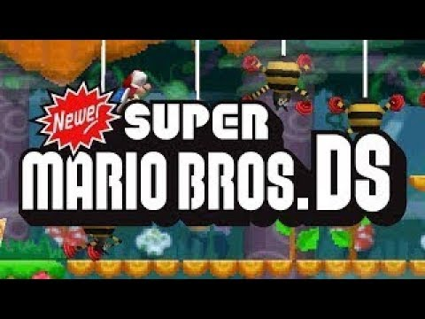 Newer Super Mario Bros. (Nintendo DS) 100% All Levels Secrets Gold Coins