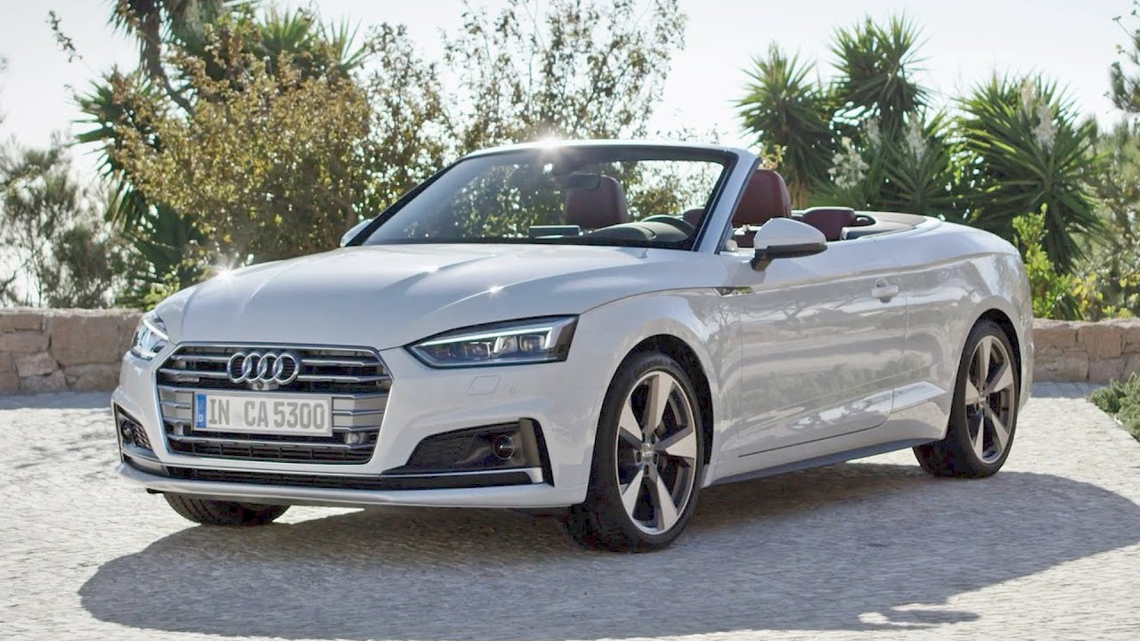 2017 audi a5 cabriolet s line tdi quattro design driving youtube. Black Bedroom Furniture Sets. Home Design Ideas