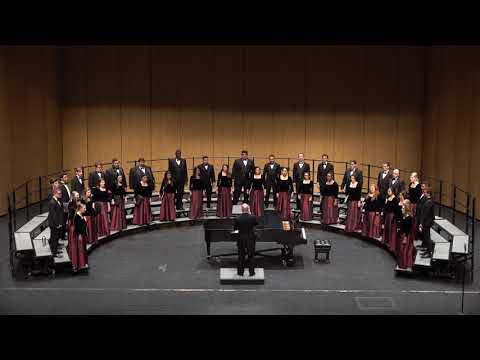 Texas Tech University Choir; Canticum Novum (Ivo Antognini); conducted by Dr. Alan Zabriskie