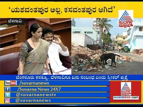 MLA's Highlights Bengaluru's Garbage Issue In Belagavi Winter Session