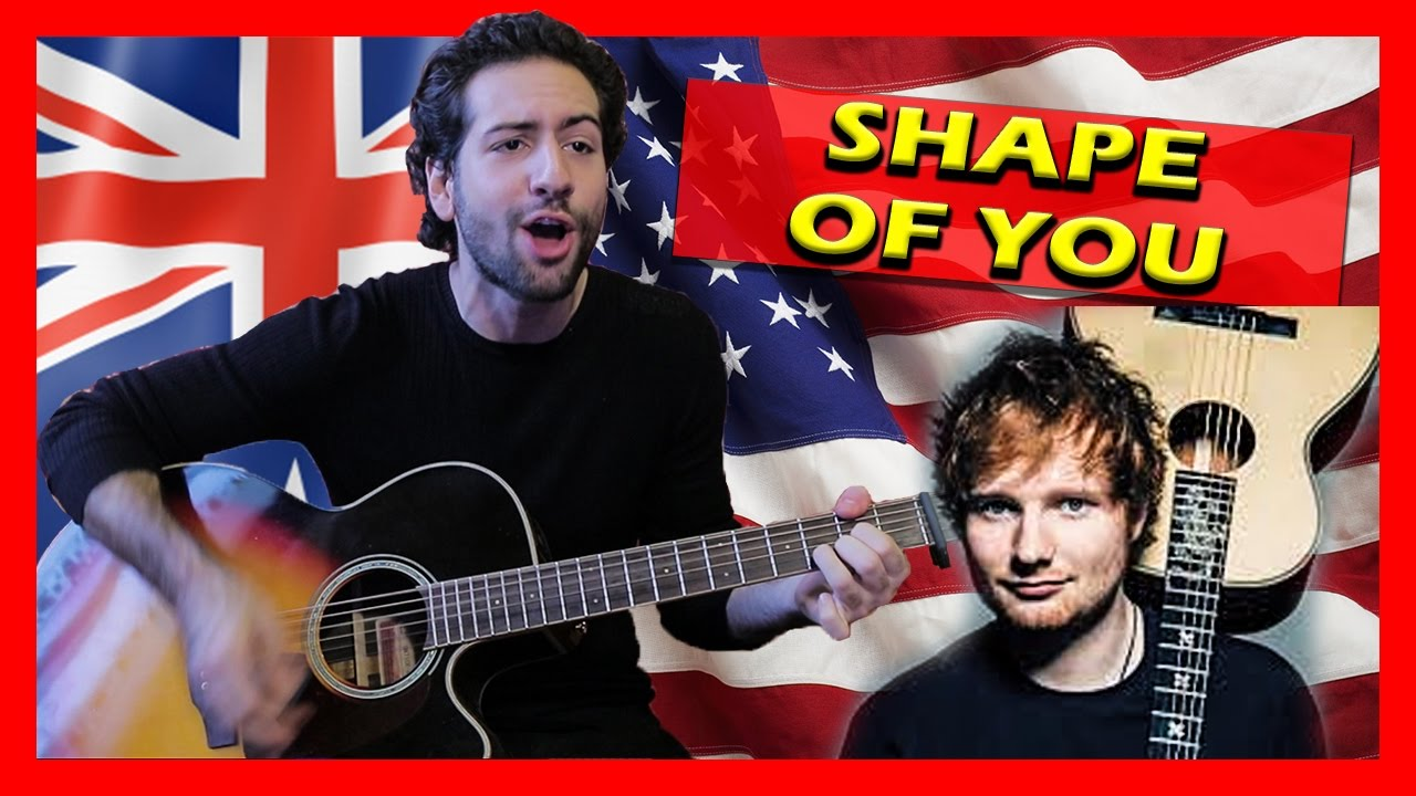 how to play shape of you on guitar