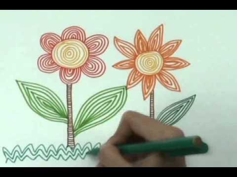 Menggambar Dengan Teknik Contouring Youtube
