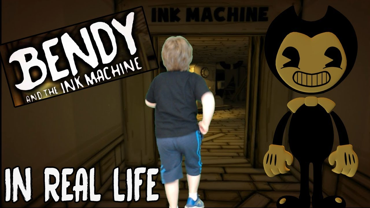 Bendy and the Ink Machine Characters In Real Life ( 2019 ...