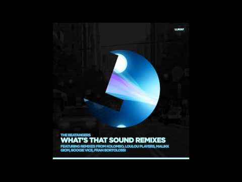 The Beatangers - What's That Sound (Boogie Vice remix) - LouLou records (LLR097)
